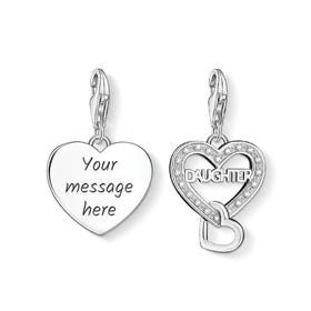 Daughter Engravable Charm Set