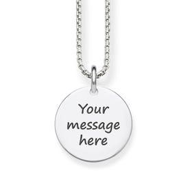Love Coins Silver Coin Pendant Necklace