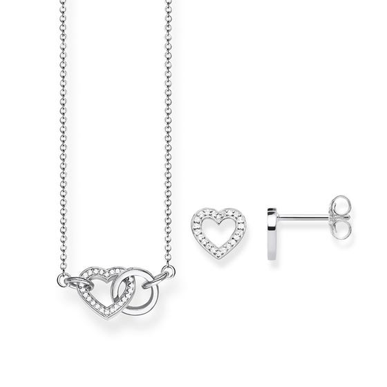 Together Necklace & Earrings Set