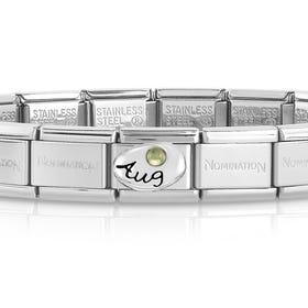 Classic Silver August Birthstone Bracelet