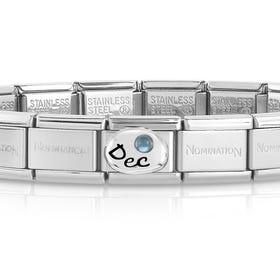Classic Silver December Birthstone Bracelet