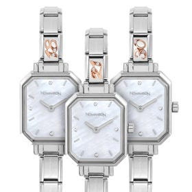Classic Paris Mother of Pearl Dial Rose Gold Birthday Age Watch