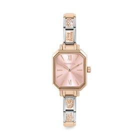 Classic Paris Rose Gold Plated I Love Family Watch