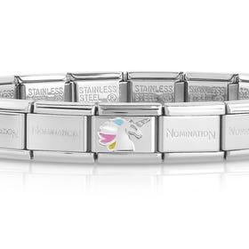 Classic Silver Unicorn Charm Bracelet