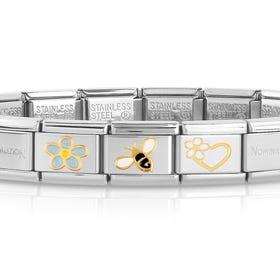 Classic Gold Wonder Of Nature Charm Bracelet