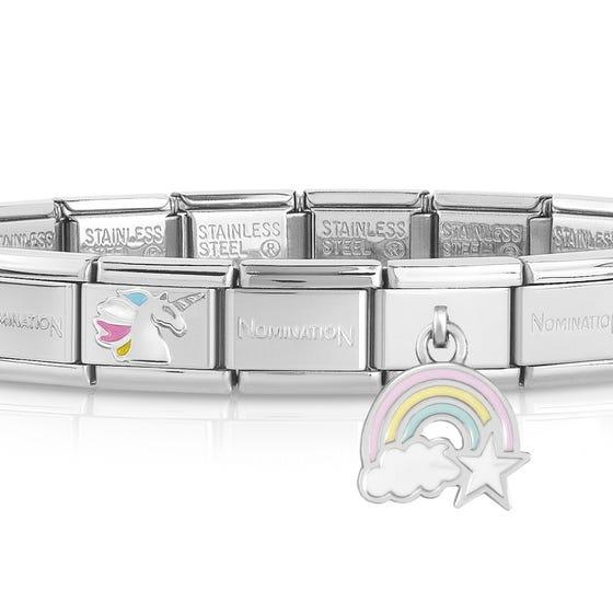 Classic Silver Magical Charm Bracelet