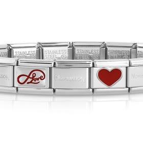 Classic Silver Limitless Love Charm Bracelet