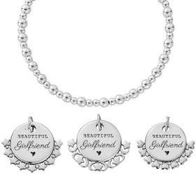 Silver Beautiful Girlfriend Didi Bracelet