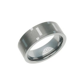 Tungsten Carbide Spinning Centre 8mm Ring