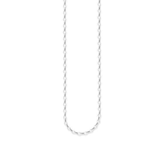Silver Belcher Chain Necklace