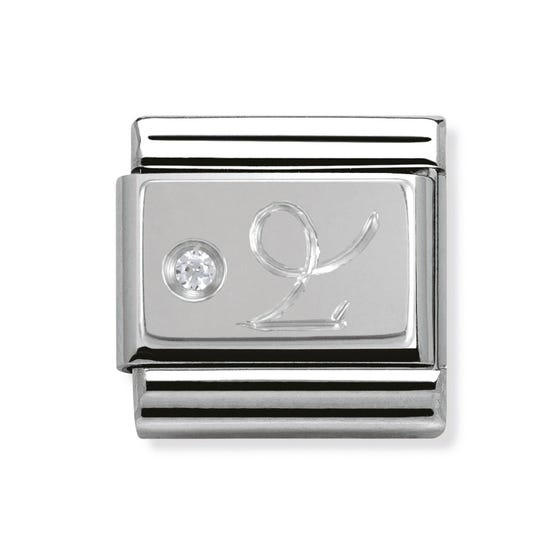 Silver & Cubic Zirconia Capricorn Classic Charm