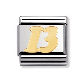 Stainless Steel and 18ct Gold 13 Classic Charm