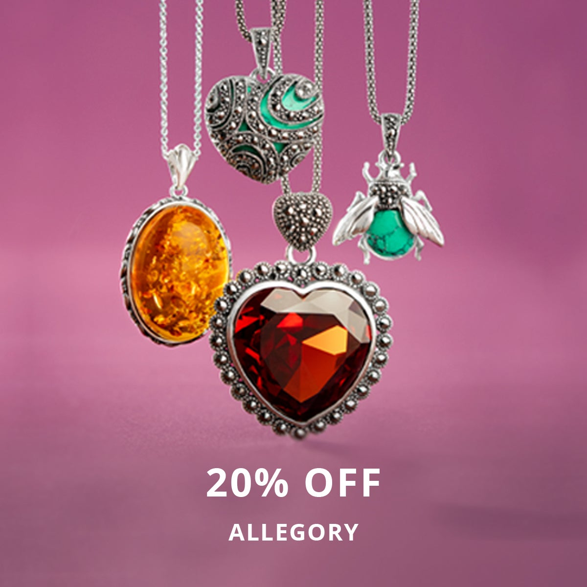 20% Off ALLEGORY