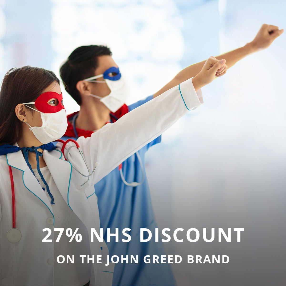 27% Off NHS Discount