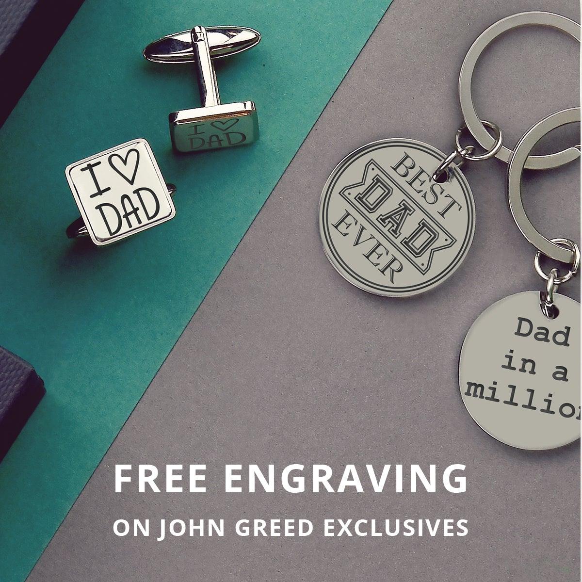 Free Engraving JG Exclusives