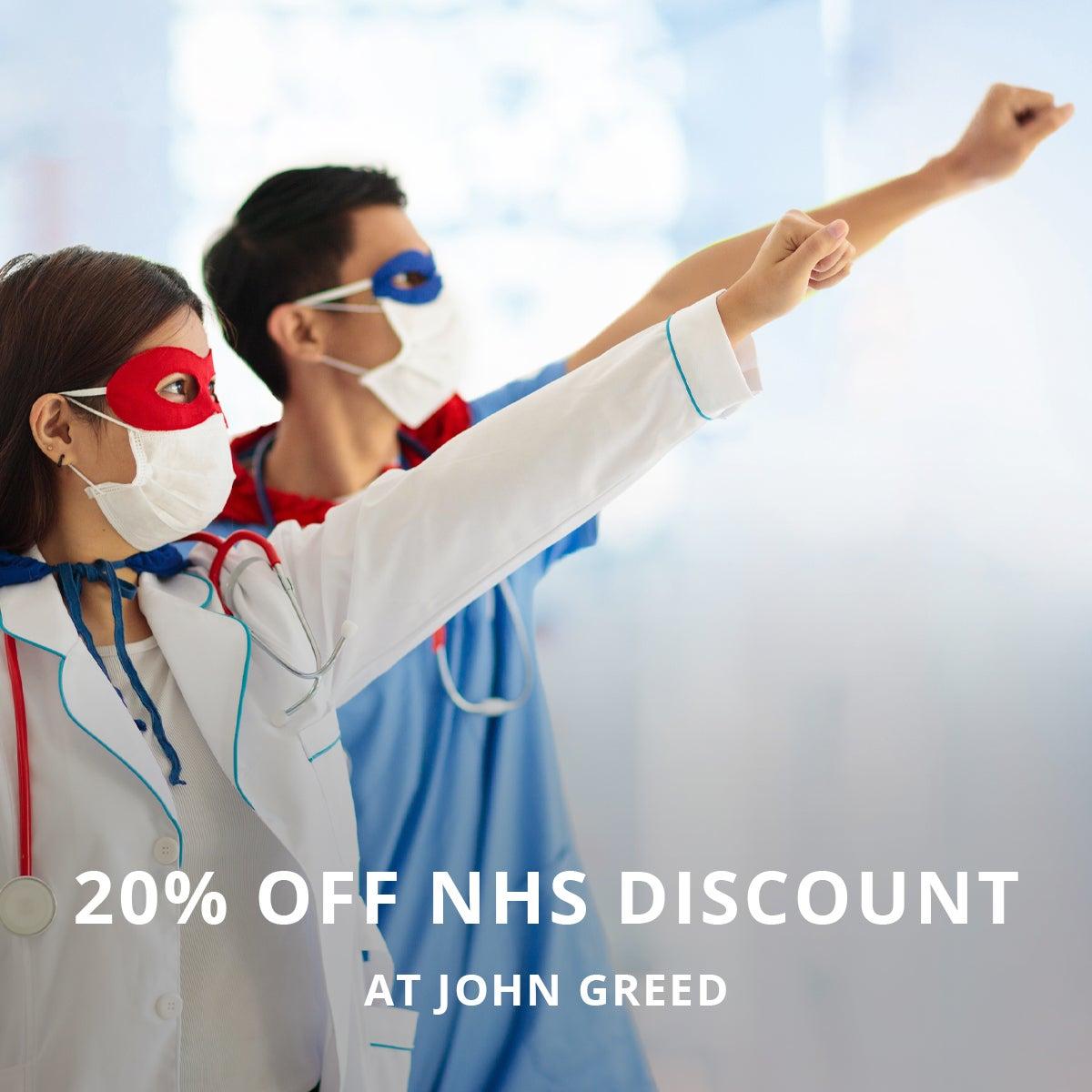20% Off NHS Discount