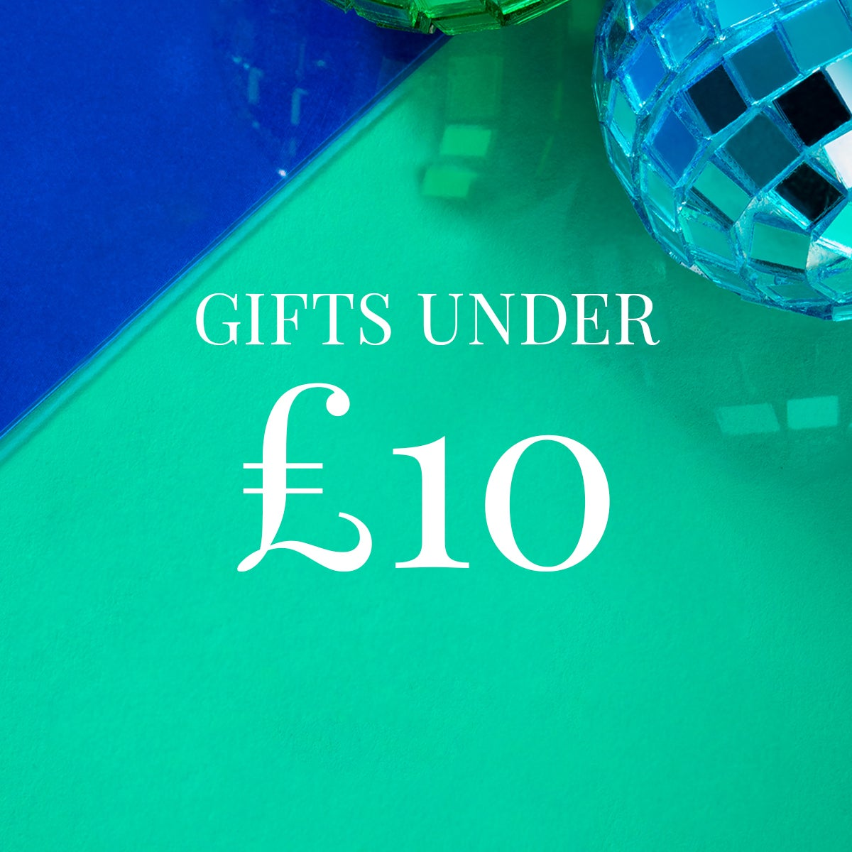 Gifts under £10 at John Greed